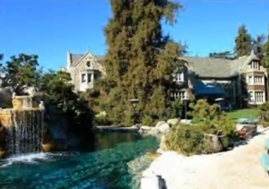 Hugh Hefner's Swimming Pool