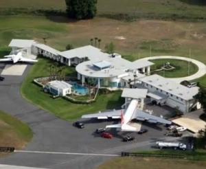 John Travolta's Swimming Pool