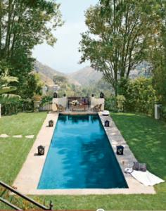 Ryan Seacrest's Swimming Pool